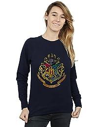 Harry Potter Mujer Hogwarts Distressed Crest Camisa De Entrenamiento