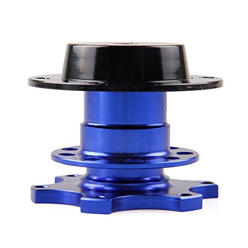 YSHtanj Lenkrad Schnellspanner Kit Wartungswerkzeuge Schraubenschlüssel Schnellspanner Splined Auto Lenkradnabe Adapter Schraubenschlüssel Werkzeug Kit - Blau blau (Lenkrad-kits)