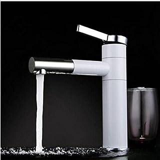 Homelody Wasserhahn bad mit 360°drehbar Waschtischarmatur Waschbeckenarmatur Badarmatur Einhebelmischer Waschbecken Waschtisch armatur für Bad