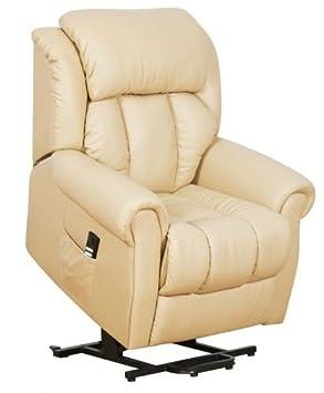 Warminster Dual Motor Leather Riser Recliner Chair Electric Lift Chair Cream Amazon.co.uk Health u0026 Personal Care  sc 1 st  Amazon UK & Warminster Dual Motor Leather Riser Recliner Chair Electric Lift ... islam-shia.org