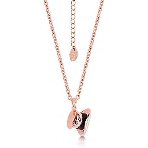 Disney Couture-Collana placcata oro rosa, motivo: