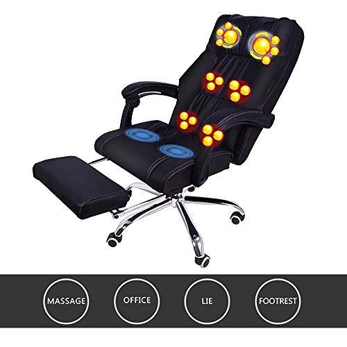 Multifunktionale Zervixmassagegerät Recliner Massagestuhl Taille Rücken Hüfte Massagegerät für kleine und mittlere Bürostuhl Haushalt Massagestuhl -