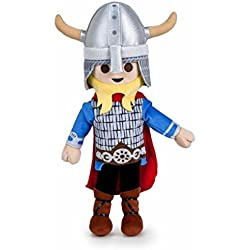 Famosa Softies - Peluche Playmobil 40 cm Vikingo