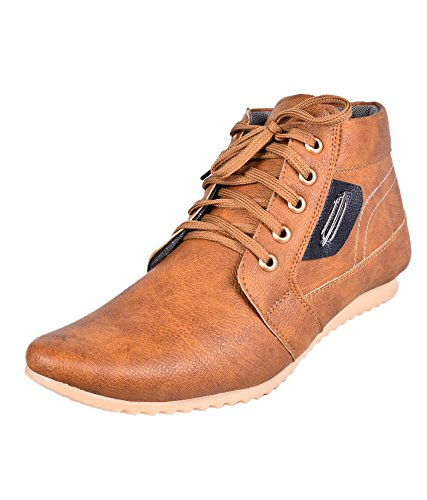 BLACK-MONEY-ESSENCE-MENS-TAN-SMART-BOOTS
