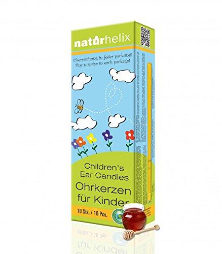 *Naturhelix Kinder-Ohrkerzen mit Propolis-Tinktur – 10er-Packung*