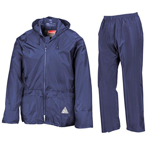 Heavyweight-Giacca e pantaloni impermeabili Blu