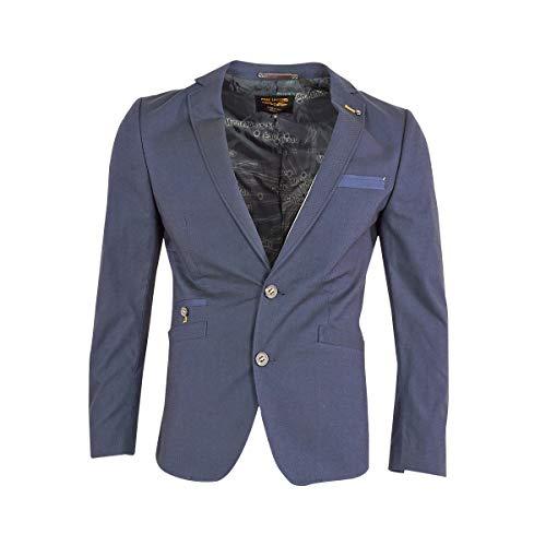 PME Legend Herren Sakko Carrier Fighter Blazer Anzug Jacke Klassisch Sportlich Regular Blau, Größe:M, Farbe:Dunkelblau