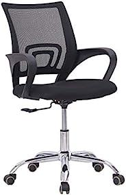 Mahmayi Executive Office Computer Desks Chair Mesh Seats Highs Back Ergonomic Adjustable, black, back size:( w