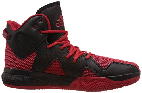 adidas Dt Bball Mid, Basket homme Rouge - Rojo (Escarl / Ftwbla / Rojpot)