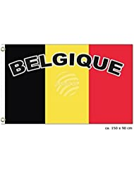 MIDI Shopping–bandera belga Bélgica Belgium Flag National International Europe 150x 90cm fl-27