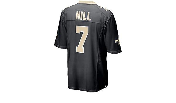 JEMWY Herren//Damen//Jugend/_Taysom/_Hill/_#7/_Schwarz/_Sportbekleidung/_Fu/ßball/_Spiel/_Jersey
