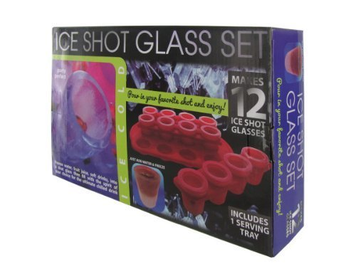 handy helpers Bulk Buys Ice Shot Glass Set by handy helpers