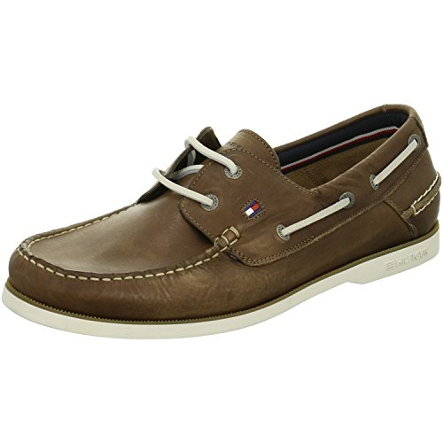 Tommy Hilfiger Coffee cuir Marron - Marron