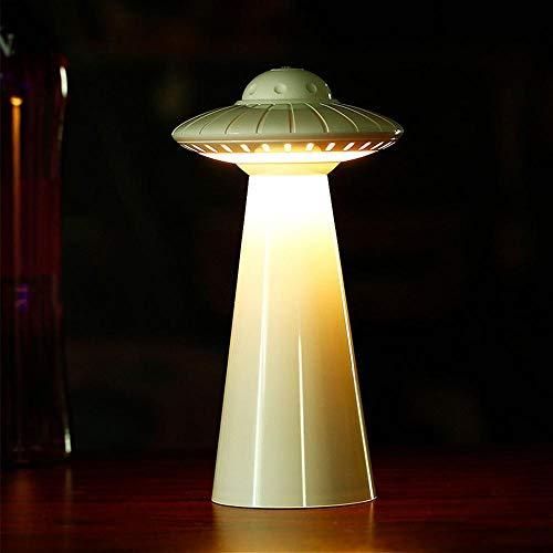UFO Lamp, UFO Regulable LED Mesa Lámpara de escritorio Cabecero Nightstand Pequeño ojo Cuidado Haya Lámpara de escritorio para lectura Estudio de trabajo Cabecera Dormitorio Luces del libro