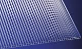 Polycarbonat Stegplatten Hohlkammerplatten klar 1500 x 700 x 6 mm