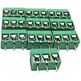 Generic 10pcs 3 Pins 5.08mm Pitch Screw Terminal Block Connector(pack Of 10)