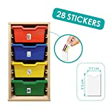 Akros 40150identificazione sticker Schoolroom risorse