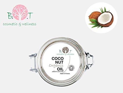 Organisches kaltgepresstes Kokosöl Desodoriert Kokosnussöl 80 ml