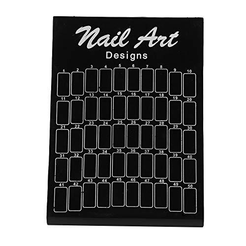 50 Pcs Nail Tips Chart Display Board