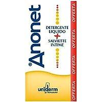Anonet Sostituto del Sapone per Igiene Perianale e Salviette per l'Igiene Intima - 222 Gr