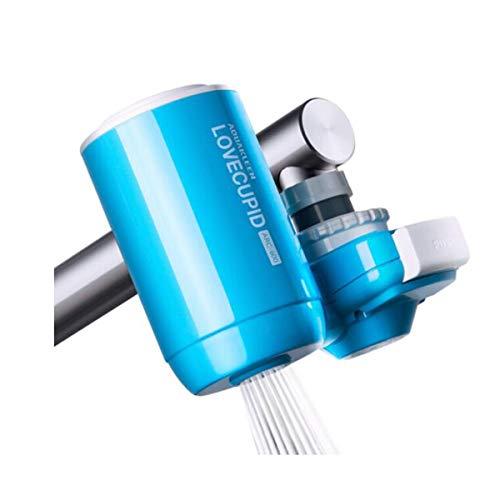 Wasserhahn Filter, Wasserhahn Ultrafiltration Vorfilter, 20 Stück Filter Baumwolle (Color : Blue) -