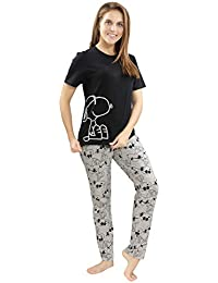 0fd8625910d PIU Snoopy Printed Night Suit Soft and Easy with Drawstring Elastic Waist