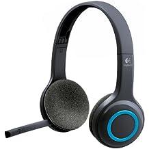 Logitech H600 Binaurale Diadema auricular con micrófono - Auriculares con micrófono (Centro de llamadas/Oficina, Binaurale, Diadema, Inalámbrico, 10 m, Circumaural)