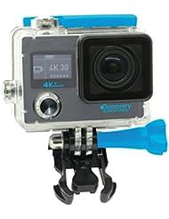 Discovery Adventures 4K Ultra-HD WLAN Action Kamera Premium inklusiv Selfie Stick, 12MP