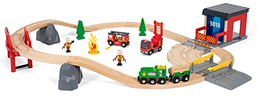 BRIO World  - 33817 - GRAND CIRCUIT POMPIER
