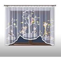 Promag Vorhang Gardine mit Kräuselband Kinderzimmer ...