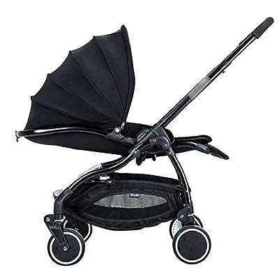 Silla de paseo Implementación Bidireccional Ligera y Compacta Portátil Plegable con una mano Arnés de cinco puntos ideal para Avión de 0-3 Años a 25kg