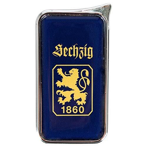 Mein Landhaus Feuerzeug TSV 1860 München Atomic Doming - offizieller Lizenzartikel (einzeln dunkelblau)