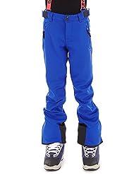 Brunotti Pantalones Pantalones de esquí lustra Azul Tirantes Pantalón de snowboard invierno, color azul, tamaño 12 años (152 cm)