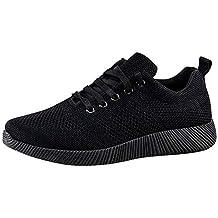 5f2b8d0df3c Amazon.es  zapatillas negras mujer suela negra