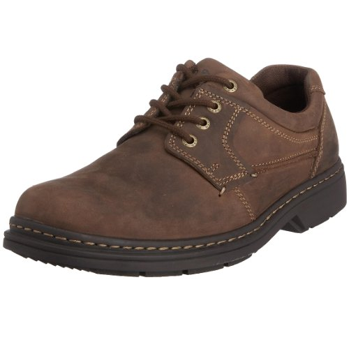 Hush Puppies Outlaw, Men's Derby, Brown (Brown Leather), 9 UK (43 EU)