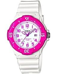 CASIO LRW-200H-4B - Reloj de cuarzo, para mujer, color rosa y blanco