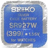Seiko Batteries All Sizes Button Cell Watch Batteries (SR927W (399))