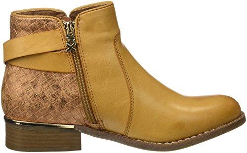 XTI Damen 046736 Booties Hueso (Camel)