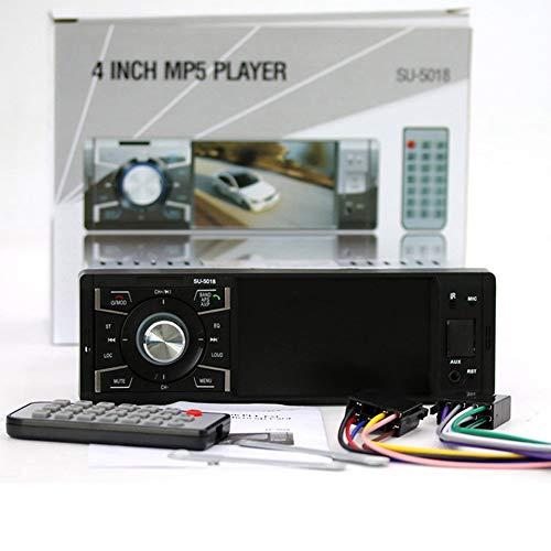 Audio-480 Stereo (Autoradio Stereo Audio MP5 Player Secure Digital Card Fernbedienung SU-5018 schwarz)
