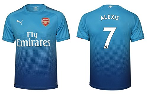 Trikot Kinder Arsenal London 2017-2018 Away - Alexis 7 (140)