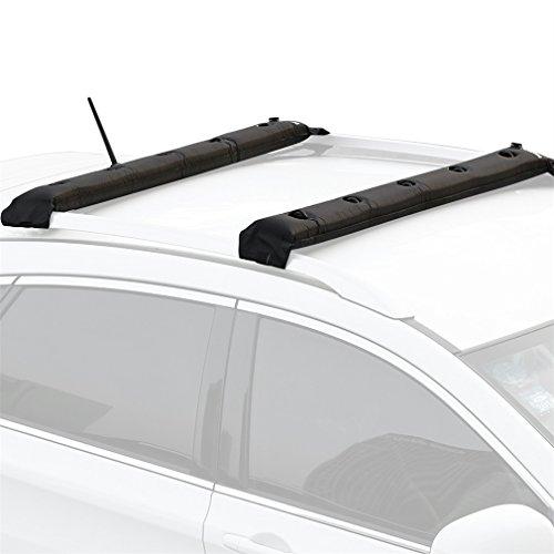 OCDAY - Protector de baca portaequipajes universal ajustable, acolchada, hinchable para coche