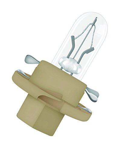 Osram 2452MFX6 Original Leiterplatteneinbau Sockel B x 8.4D, 12V, 1.5 W, 10 Lampen, Anzahl 10