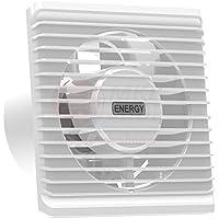 Basso consumo energetico silenzioso bagno cucina aspiratore 100 millimetri con l'estrazione di ventilazione timer di ritardo