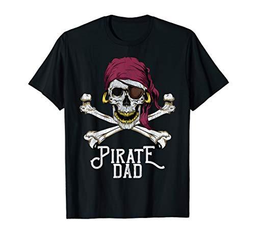 Piraten Ninja Kostüm - Herren Pirat Papa Jolly Roger Totenkopf-Halloween-Kostüm