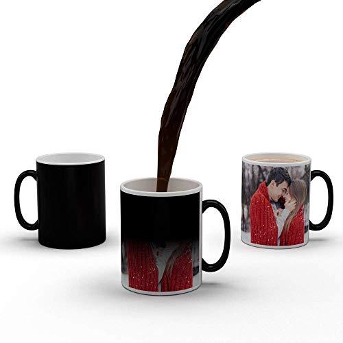 Ashani Creation Color Changing Personalised Photo Magic Mug, 325ml Coffee Mug