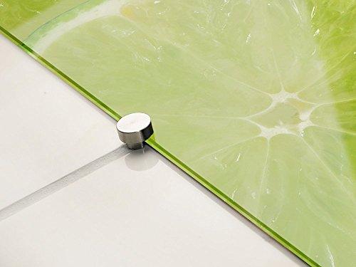 Kuchenruckwand Spritzschutz Kuche Aus Glas Glasruckwand Limetten