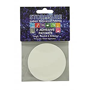 Tuff Tape x 75mm Circular Repair Patches by Stormsure