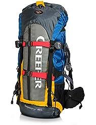 CREEPER 60L profesional marco interno mochila para senderismo de Montaña