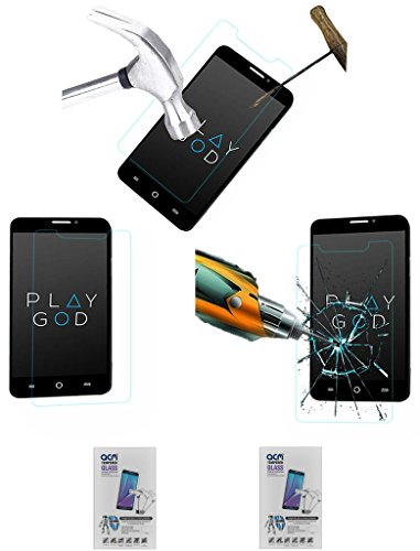 Acm Pack Of 2 Tempered Glass Screenguard For Micromax Yu Yureka A05510 Mobile Screen Guard Scratch Protector  available at amazon for Rs.419