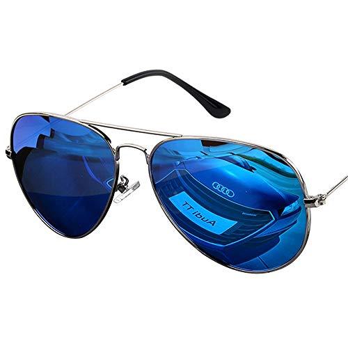 ZCF Tag und Nacht Polarisationsbrille mit doppeltem Verwendungszweck farbige Sonnenbrille Männer Fahren Sonnenbrillen Froschspiegel Fahrer Fahren Fischereiaugen (Edition : D)